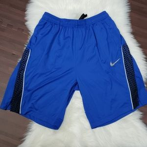 Blue Nike Dri-fit Shorts
